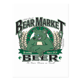 Bear-Market-CNBC-LARGE Postcard