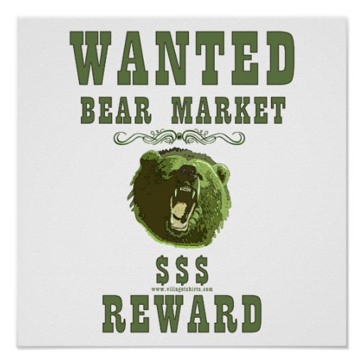 Bear Market Reward Print