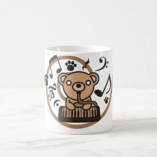 Bear_Method 11 Oz Magic Heat Color-Changing Coffee Mug