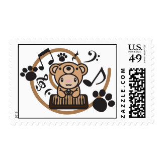 Bear_Method Sello Postal
