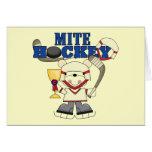 Bear Mites Hockey Champ Tshirts and Gifts Greeting Cards