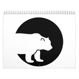 Bear moon calendar