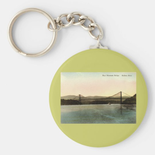 Bear Mountain Bridge, Hudson River NY Vintage 1927 Keychain
