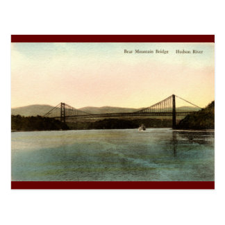Bear Mountain Bridge, Hudson River NY Vintage 1927 Postcard