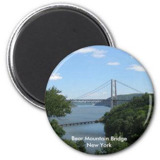 Bear Mountain Bridge 2 Inch Round Magnet
