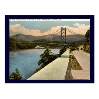 Bear Mountain Bridge, New York 1920s Vintage Postcard