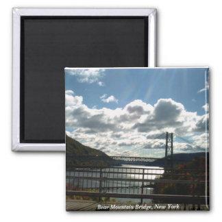 Bear Mountain Bridge, New York 2 Inch Square Magnet