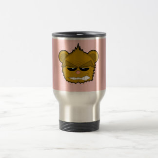 Bear 15 Oz Stainless Steel Travel Mug