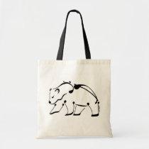 """Bear ~ """"Musical"""" Tote Bag"""