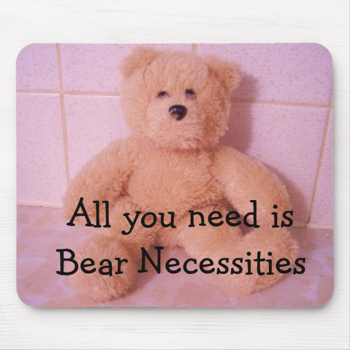 Bear Necessities Mouse Pad