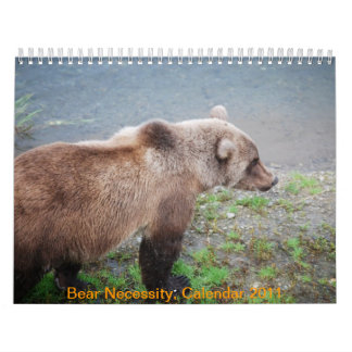 Bear Necessity, Calendar 2011