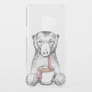 Bear Sketch Phone Tablet Laptop Ipod Cases Covers