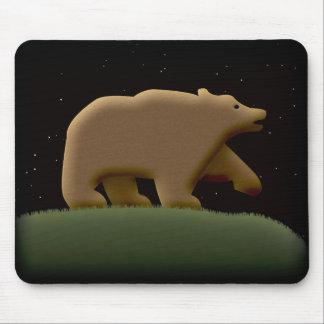 Bear Night Mousepad