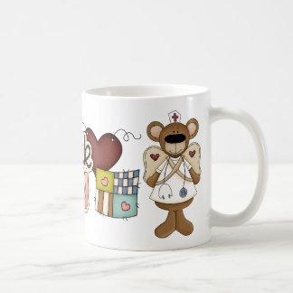 Bear Nurse Thank You Mug