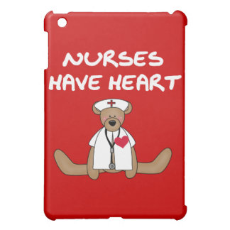 Bear Nurses Have Heart and Gifts iPad Mini Covers