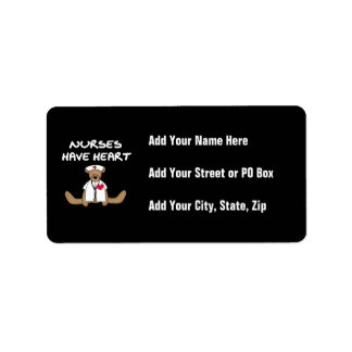Bear Nurses Have Heart T-shirts and Gifts Label