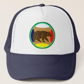 Bear of walk trucker hat
