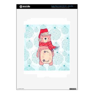 Bear of Winter Skin For iPad 3
