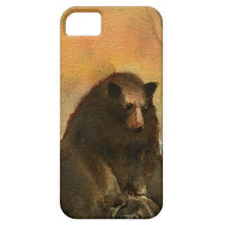 Bear on a Log iPhone SE/5/5s Case