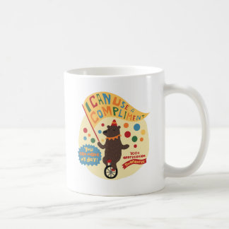 Bear On A Unicycle Coffee Mug