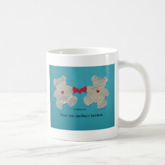Bear one another's burdens. Galations 6:2 Coffee Mug