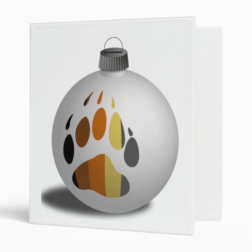 Bear Ornament Binder