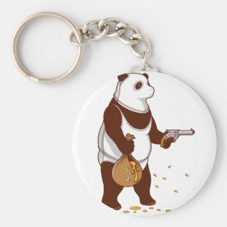 Bear Panda Keychain