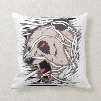 Bear Panda - Mummy Throw Pillow
