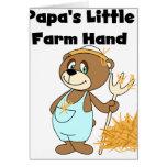 Bear Papa's Little Farm Hand Card