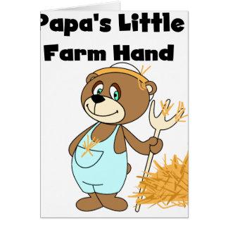 Bear Papa's Little Farm Hand Cards