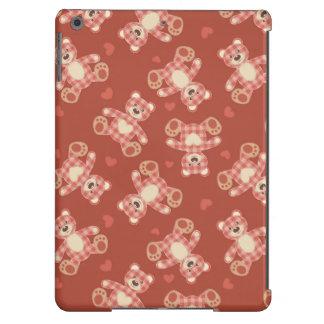 bear patchwork pattern iPad air case