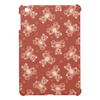 bear patchwork pattern iPad mini cover