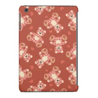 bear patchwork pattern iPad mini retina cases
