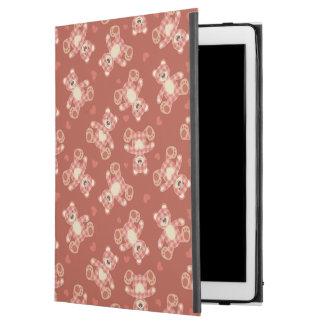 "bear patchwork pattern iPad pro 12.9"" case"