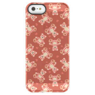 bear patchwork pattern permafrost® iPhone SE/5/5s case