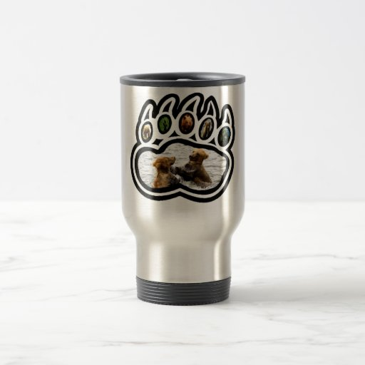 Bear Paw 15 Oz Stainless Steel Travel Mug