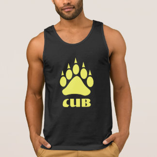 Bear Paw Breman Black Cub (Yellow) Tank Top