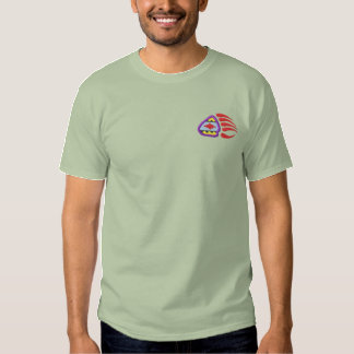 Bear Paw Embroidered T-Shirt