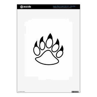 Bear Paw iPad 3 Skins