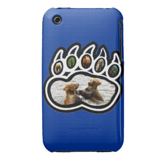 Bear Paw iPhone 3 Case-Mate Cases