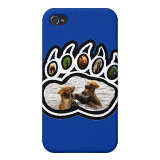 Bear Paw iPhone 4 Case