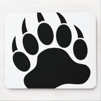 Bear Paw Mouse Pad