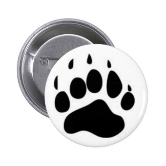 Bear Paw Print Buttons