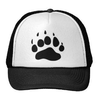 Bear Paw Print Trucker Hat