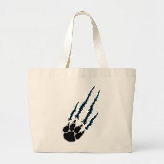 Bear Paw Rip Large Tote Bag