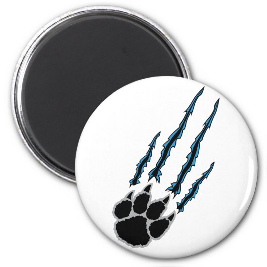 Bear Paw Rip Magnet