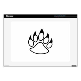 Bear Paw Laptop Skin