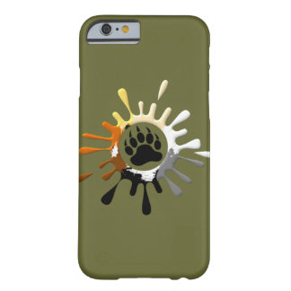 Bear Paw Splash Bear Pride Colors Barely There iPhone 6 Case