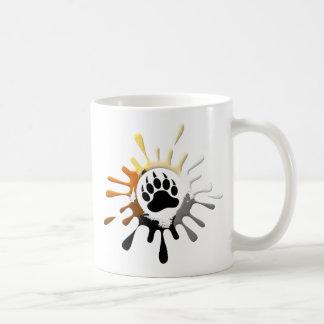 Bear Paw Splash Bear Pride Colors Classic White Coffee Mug
