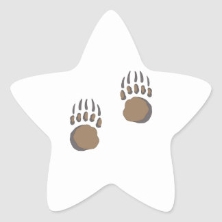 BEAR PAW STAR STICKERS